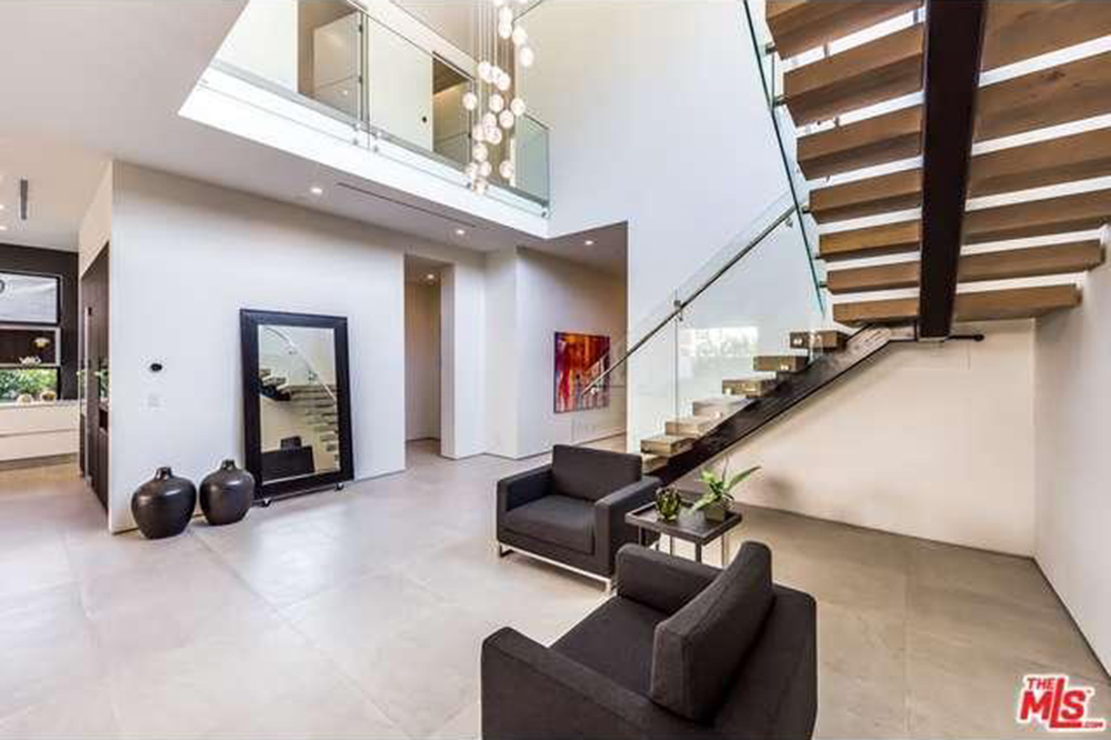 The Chainsmokers Drew Taggart Buys House In Los Angeles CA Foyer