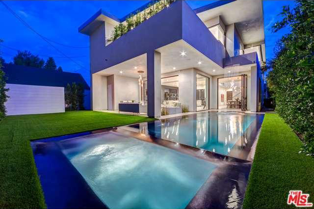 The Chainsmokers Drew Taggart Buys House In Los Angeles CA Pool