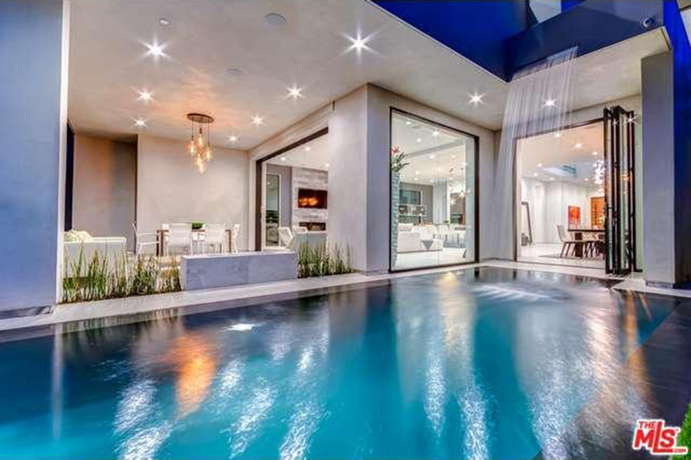 The Chainsmokers Drew Taggart Buys House In Los Angeles CA Waterfall
