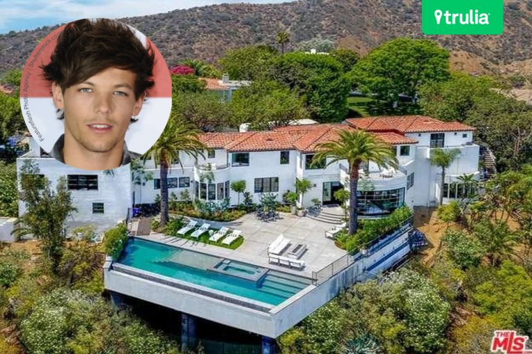 Louis Tomlinson New House New Baby Hollywood Hills CA