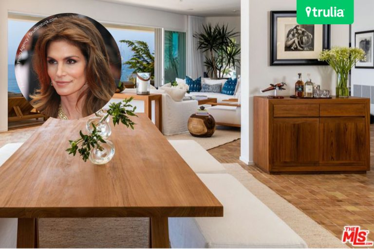 Cindy Crawford Lists Beach House For Sale in Malibu CA
