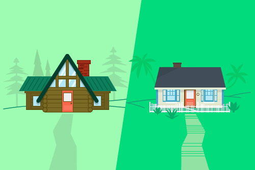 winter homes for sale cabins and cottages