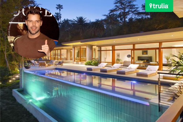 Ricky Martin Buys Mansion In Beverly Hills CA