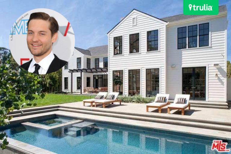 Tobey Maguire Buys In Brentwood CA Feature Home