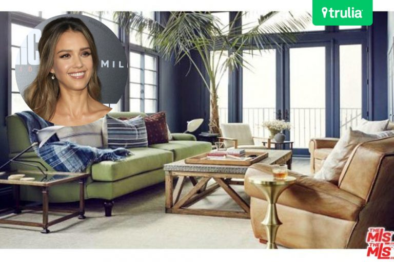 Jessica Alba Home Tour Beverly Hills Home For Rent Bedroom