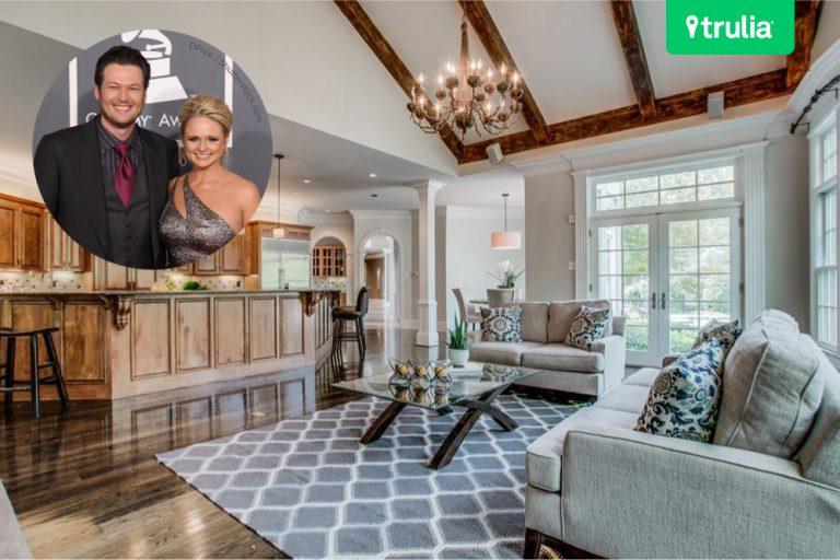 Blake Shelton and Miranda Lambert House Sells Brentwood TN