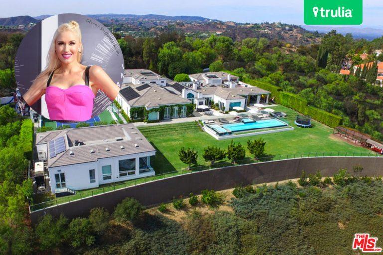 Gwen Stefani Lists Home For Sale Hollywood Hills CA
