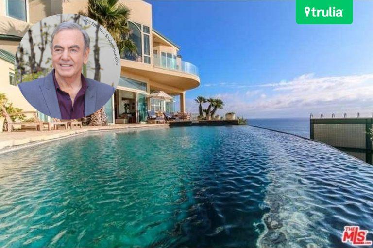 Neil Diamond Buys House For Sale Malibu CA