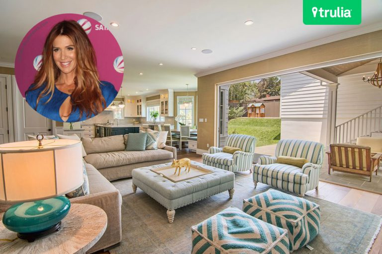 Poppy Montgomery Lists Home For Sale Pacific Palisades