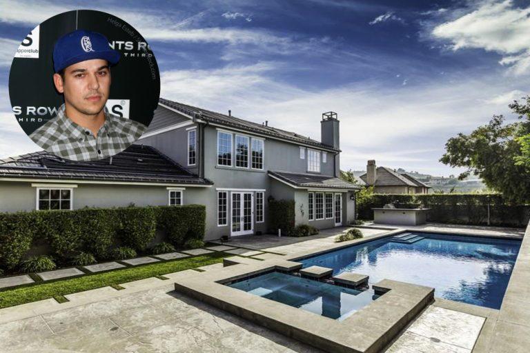 Rob Kardashian Calabasas CA House For Sale