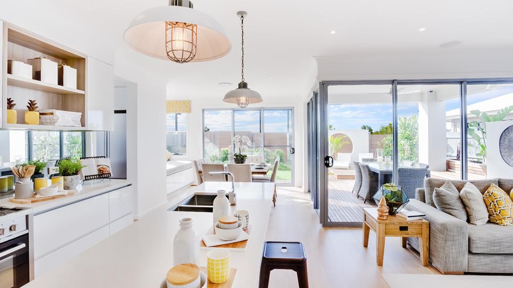 house flip modern lighting