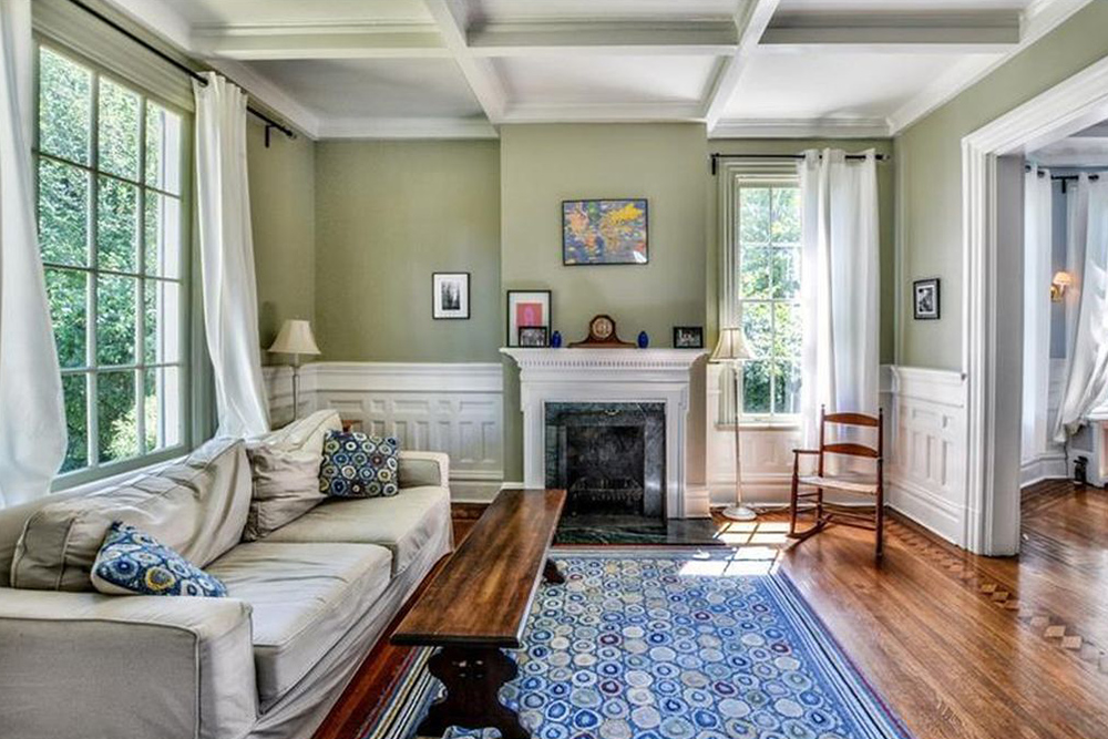 architecture styles hardwood floors fireplace