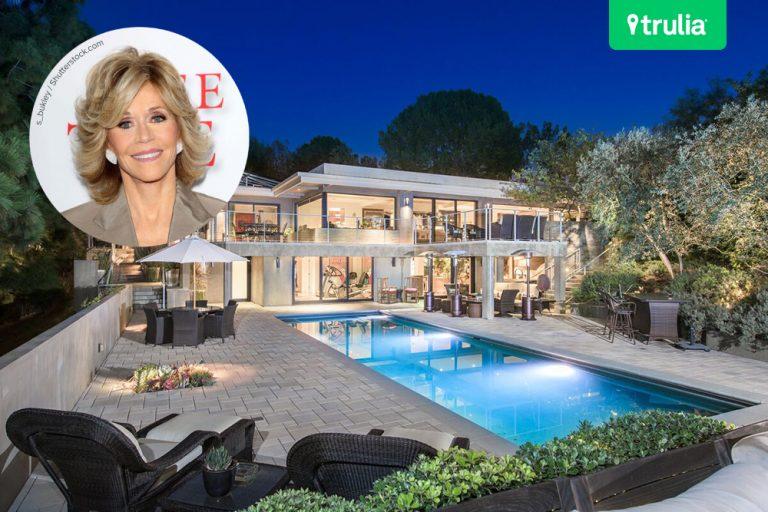 Jane Fondau0027s Beverly Hills Mansion Hits The Market   Celebrity   Trulia Blog