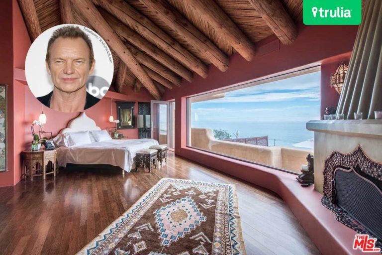 Sting rents Malibu beach house