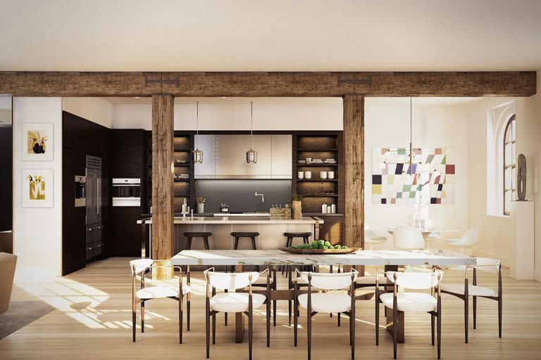 Harry Styles New York Apartment Dining