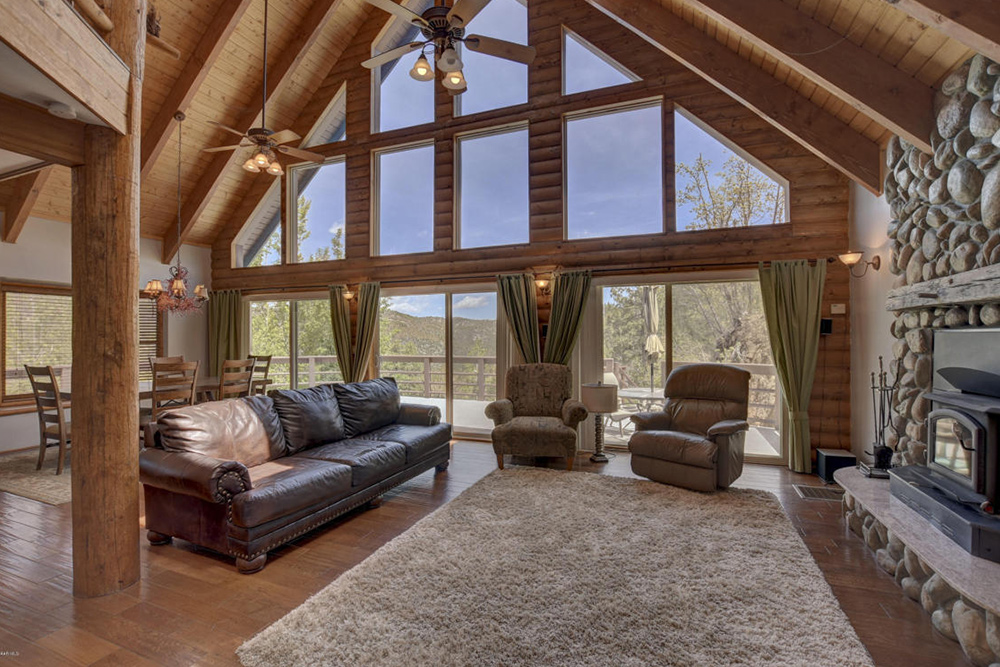 Log Cabin Homes For Sale in Mayer AZ