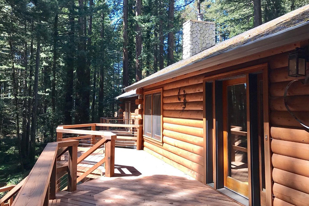 Log Cabin Homes For Sale in Woodside CA