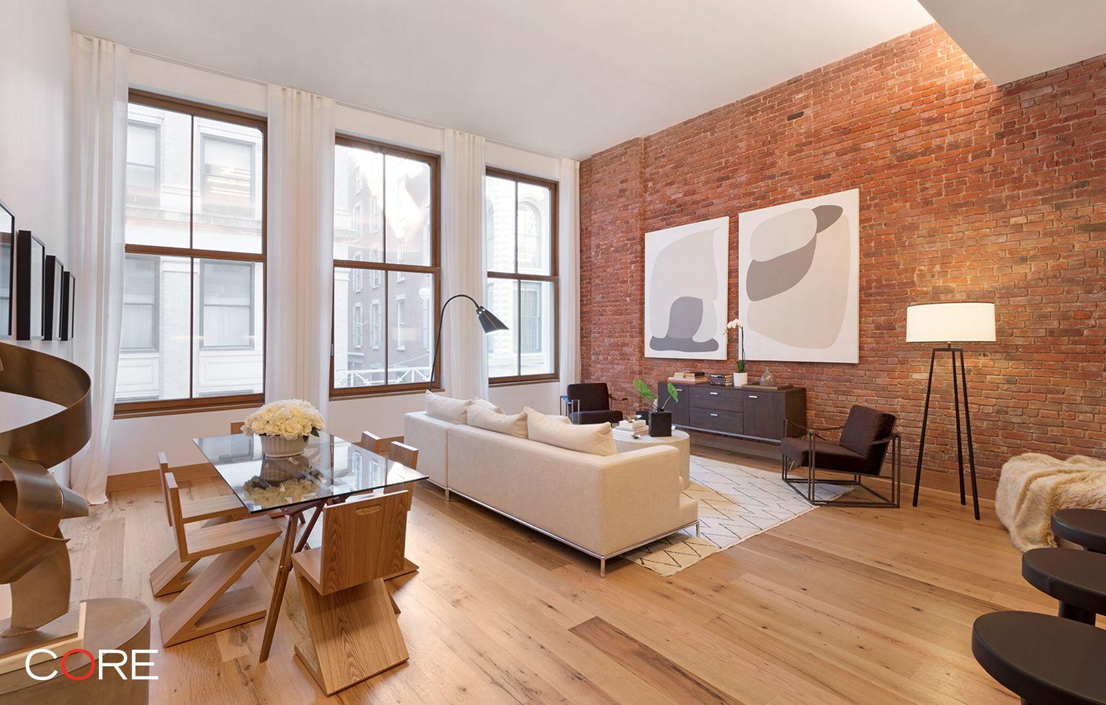 Diane Kruger Tribeca Condo Living Room