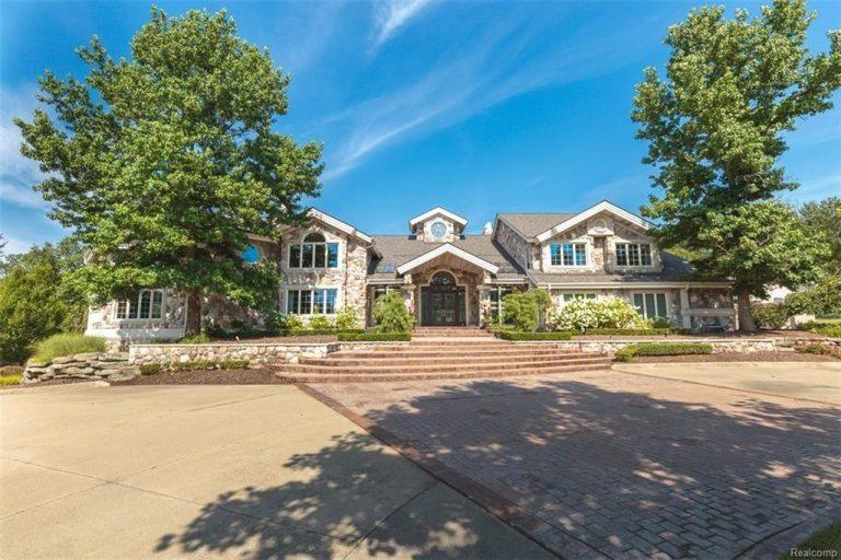 Eminem lists Michigan home exterior