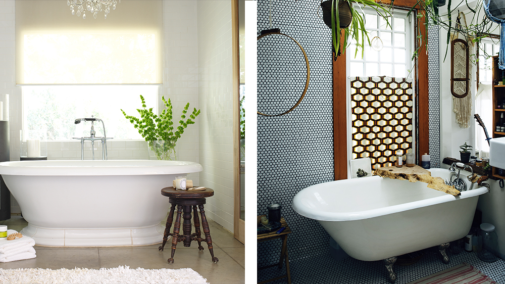 soaking tub vs clawfoot tub? the home features people want right now