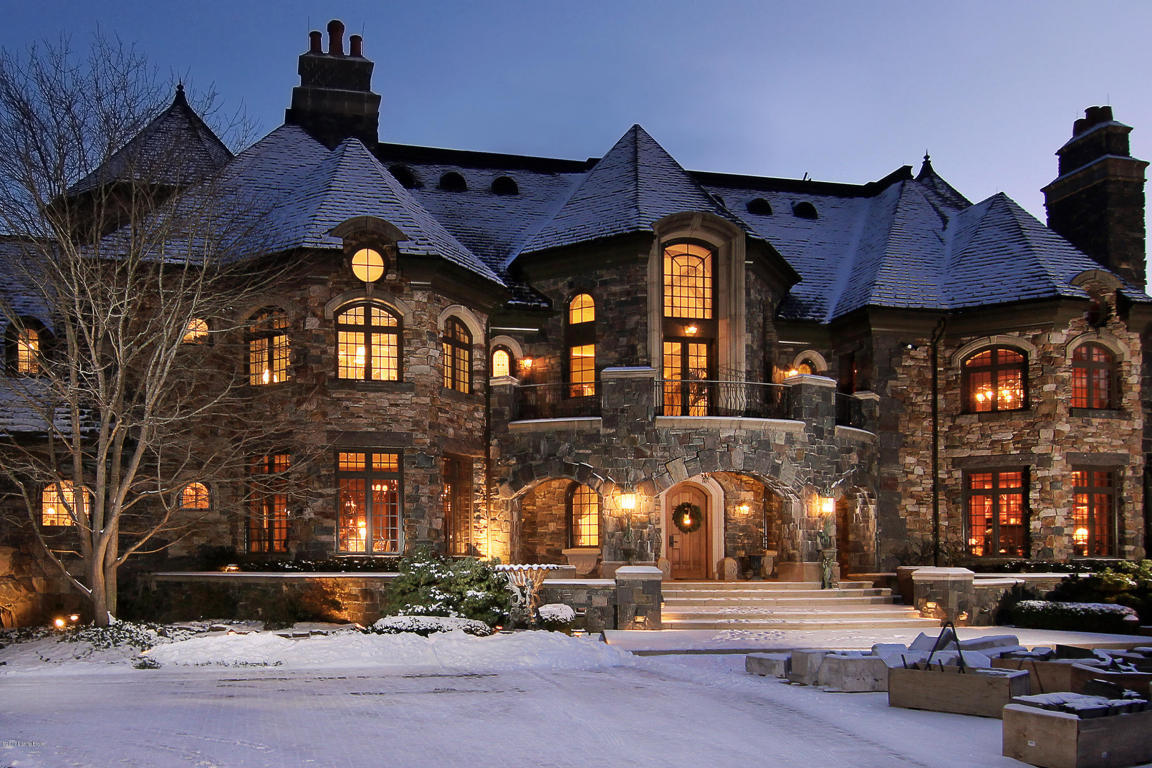 Stone Mansion In The Midwest