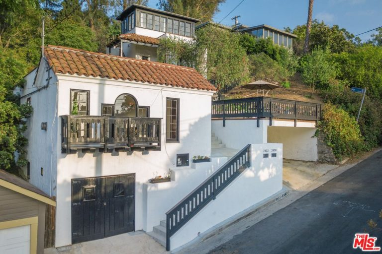 James Franco lists Silver Lake home home exterior