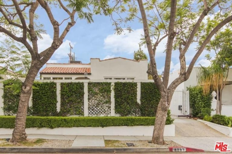 Robert Duvall sells his west hollywood home exterior