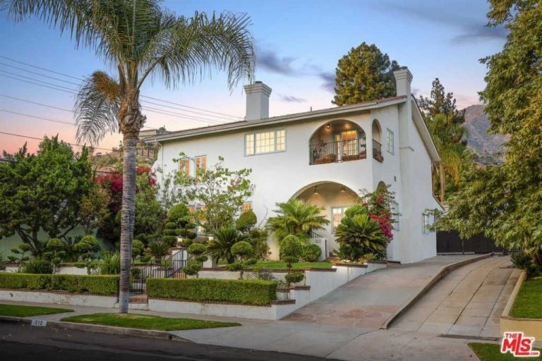 kelis lists her glendale home for $1.885 million exterior