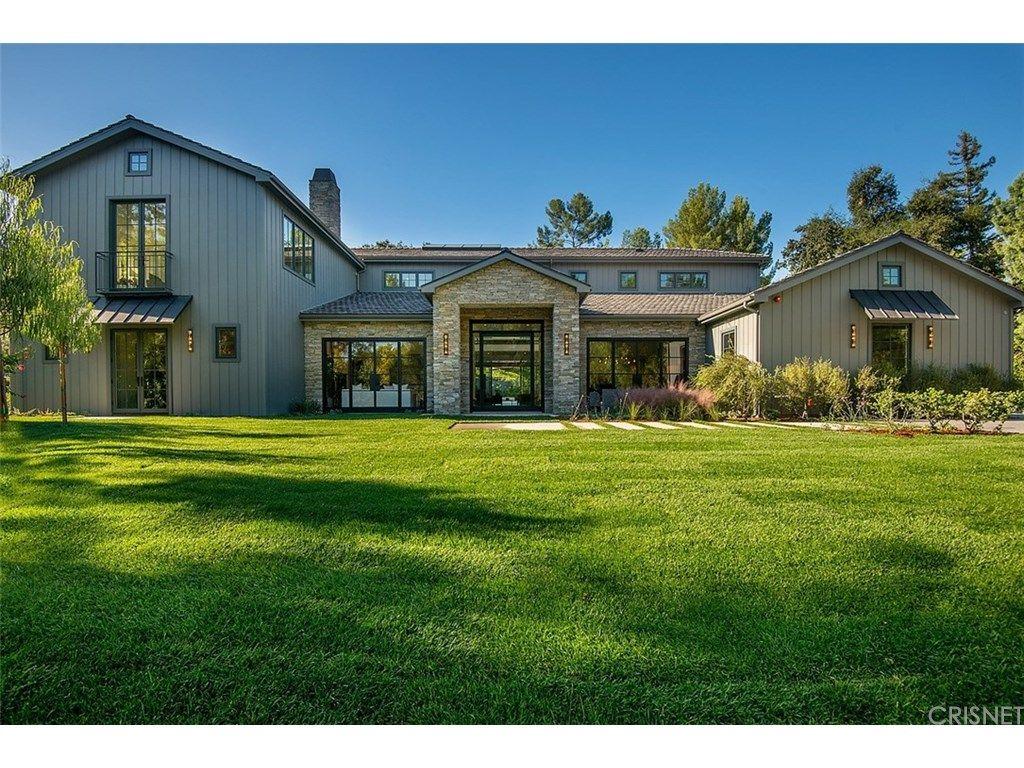 kris jenner drops $9.925 million on hidden hills home exterior