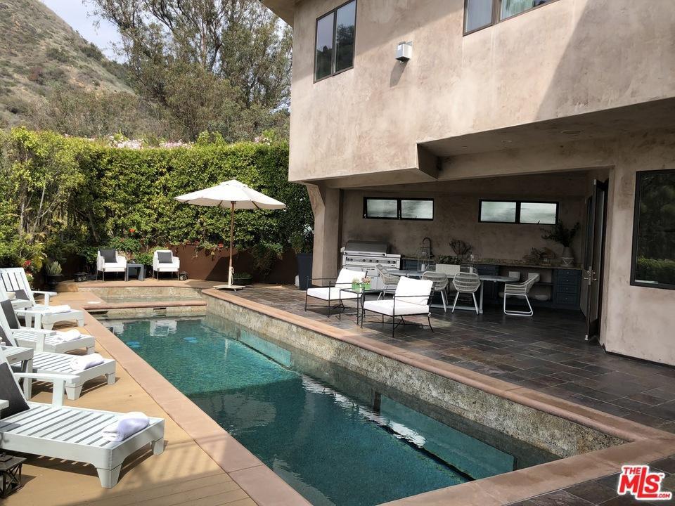eva longoria lists her hollywood hills home exterior 2