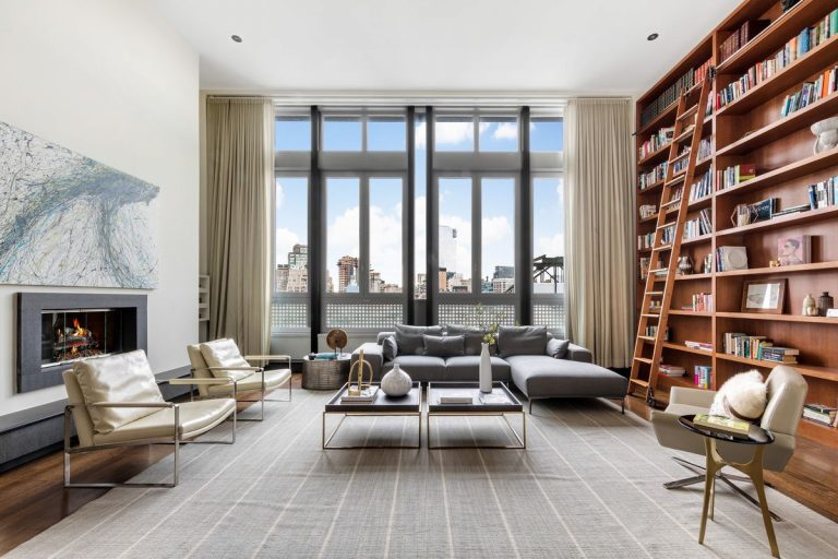 mike myers sells his new york penthouse for $13.95m living room