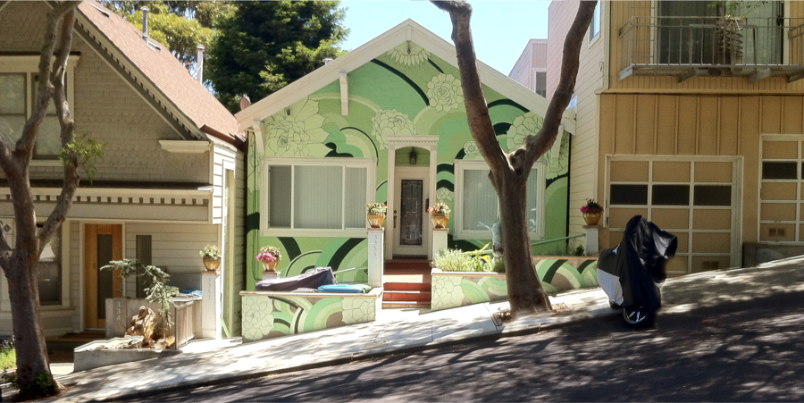 Bernal Heights neighborhood of San Francisco