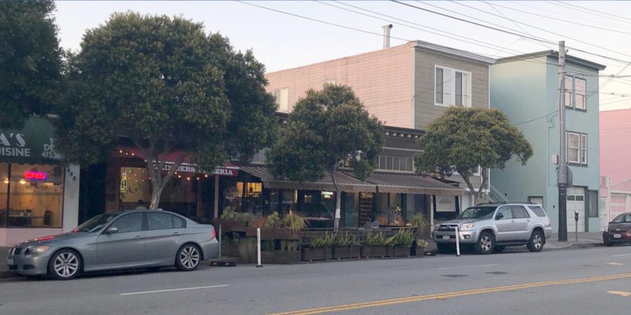 Inner Richmond neighborhood of San Francisco