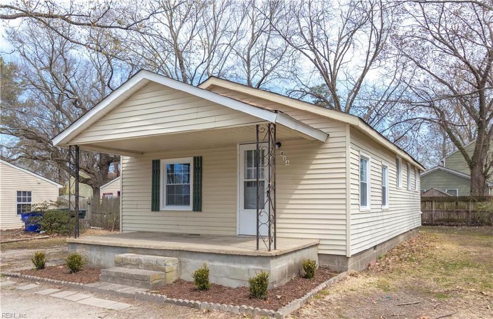 rental home in Norfolk, Virginia