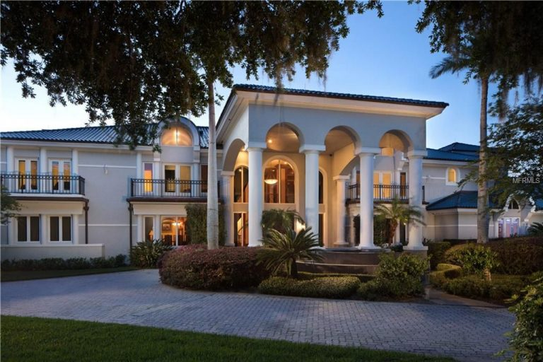 shaquille oneal lists his florida estate for $38m exterior