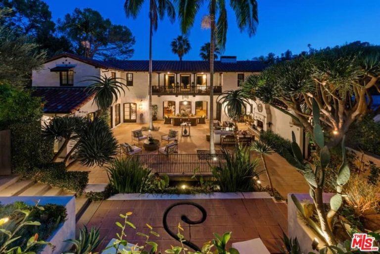 jim parsons lists his los feliz home for $9m backyard