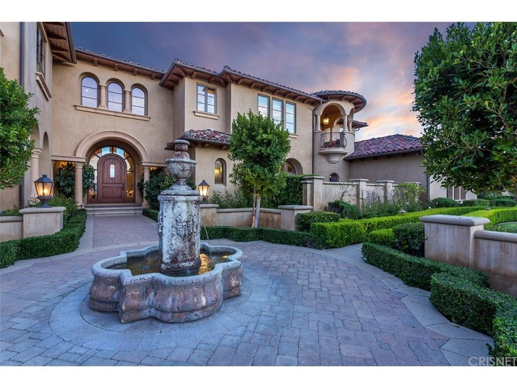 chris paul lists his calabasas home for 11.05m motor court
